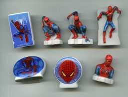 FEVES - FEVE - LOT 7 FEVES SPIDER MAN 2012 - SPIDERMAN - Dessins Animés