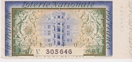 VIEUX PAPIERS - LOTERIE NATIONALE - ANNÉE 1940- 11° TRANCHE - Billets De Loterie
