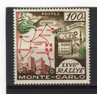 MONACO - Y&T N° 491* - 27ème Rallye Automobile De Monte-Carlo - Monaco