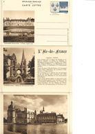 Carte Lettre Yvert N° 14/2  Année 1938  Neuve, Cote 32,50 Euros, Malmaison, Soissons, Chantilly - Postal Stamped Stationery