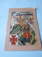 Un Petit Livret  Combat De Dieudonné De Gozon Contre Un Crocrodile Imagerie Pelerin  Fin Xix éme  Debut Xx éme Siecle - Livres, BD, Revues