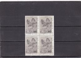 Japon Nº 1307 En Bloque De Cuatro - 1926-89 Empereur Hirohito (Ere Showa)