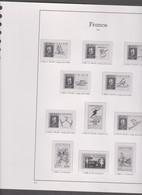 40 Feuilles Pré-imprimées Avec Pochettes YVERT Et TELLIER 22 Anneaux Jeux France 1991 à 1994 - Álbumes & Encuadernaciones
