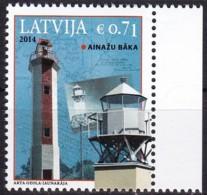 Lettland, 2014, 920,  Leuchtturm Ainaži (Haynasch),  MNH ** - Latvia