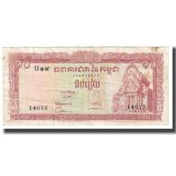 Billet, Cambodge, 10 Riels, KM:11c, TB - Cambodia