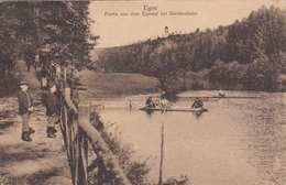 EGER - Partie Aus Dem Egertal Bei Siechenhaus, Gel.1922, 5 Fach Frankiert - Tschechische Republik