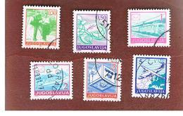 JUGOSLAVIA (YUGOSLAVIA)   - SG 2589.2596  -    1990  POSTAL SERVICES   -  USED - 1945-1992 Repubblica Socialista Federale Di Jugoslavia