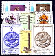 Siria-00121 - Valori Del 1980 (o) Used - Senza Difetti Occulti. - Siria