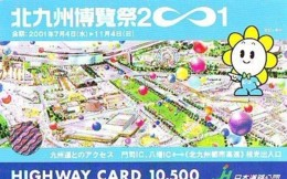Carte Prepayee JAPON * (1869) BALLON * MONTGOLFIERE - Hot Air Balloon * Aerostato * Heißluft Prepaid CARD JAPAN - - Sport