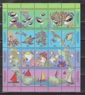 COCOS (KEELING) ISLANDS Scott # 292f MNH - Map & Reef Life - Shipped Folded - Cocos (Keeling) Islands