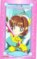 Télécarte Japon * MANGA * CLAMP * CARDCAPTOR * SAKURA (16.836)  JAPAN COMICS PHONECARD * TELEFONKARTE  CINEMA * FILM - Comics