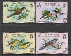 1980 New Hebrides Birds Oiseaux  Complete Set Of 4 MNH - Nuevos