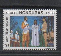 Honduras 1991 MNH Scott C824 Espamer 1991 Buenos Aires - Honduras