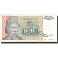 Billet, Yougoslavie, 10,000 Dinara, 1993, 1993, KM:129, TB+ - Yougoslavie