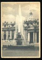 CPM Vatican Citta Del Vatican Fontana Della Piazza S. Pietro - Vatican
