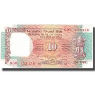 Billet, Inde, 10 Rupees, KM:88e, SPL - India