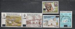 Honduras 1986 Surcharges MNH With Pair - Honduras