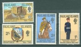 Falkland Is: 1970   Golden Jubilee Of Defence Force   MH - Falkland Islands