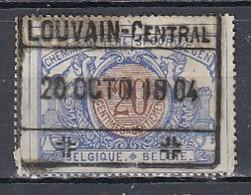 Tr 30 Gestempeld Louvain-Central - 1895-1913