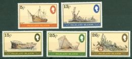 Falkland Is: 1982   Ship Wrecks   MH - Falkland Islands