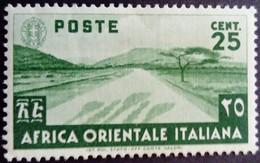 Afrique Orientale Italienne Africa Italiana 1938 Yvert 7 * MH - Eastern Africa