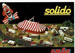 Brochure Catalogue SOLIDO Cirque AMAR Coffrets Chapitaux Camions Ménagerie Caravane - Autres Collections