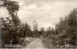 Maantie Ivalo Pitkajarvi - Landsvagen Ivalo Pitkajarvi - Finlande