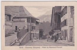 CP -  CHARMEY - HÔTEL Du MARECHAL-FERRANT - FR Fribourg