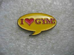 Pin's I Love GYM! - Gymnastique