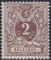 Belgie   .  OBP  .   44   (2 Scans)  .    **   .     Postfris    .  /   .  Neuf Sans Charniere - 1869-1888 Liggende Leeuw