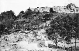 CPA De Pas-des-lanciers (Bouches Du Rhône) - Vue De La Table Ronde. N° 4070. Bon état. - Autres Communes
