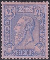 Belgie   .  OBP  .   48  (2 Scans)     .    **   .     Postfris    .  /   .  Neuf Sans Charniere - 1883 Leopold II.