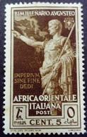 Afrique Orientale Italienne Africa Italiana 1938 Yvert 23 * MH - Africa Orientale