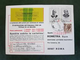(37965) STORIA POSTALE ITALIA 1977 - 6. 1946-.. Repubblica