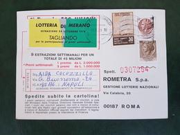 (37967) STORIA POSTALE ITALIA 1978 - 6. 1946-.. Repubblica