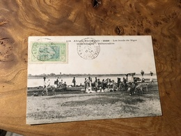 288/ SOUDAN LES BORDS DU NIGER DIAFARABE DEBARCADERE - Soedan