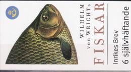 Suède Carnet C2227 ** - Fishes