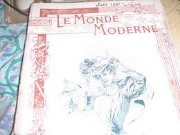 MONDE MODERNE /LAC MAJEUR /FABRICATION BEURRE/ DRESDE /MUSEE GUIMET /EDMOND ROSTAND - Libri, Riviste, Fumetti
