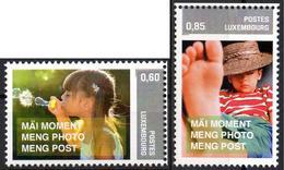 LUXEMBOURG 2015 - 2v  MNH** - Personal Stamps Children Childhood Enfants Enfance Kinder Kindheit Infancia Infantil - Enfance & Jeunesse