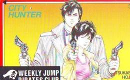 Télécarte Japon * MANGA * CITY HUNTER (16.851)  JAPAN COMICS PHONECARD * TELEFONKARTE  CINEMA FILM - Stripverhalen