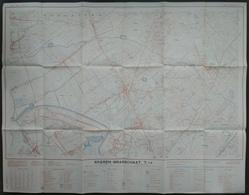 Topografische Kaart STAFKAART Ekeren Brasschaat Kamp Van Oorderen Wilmarsdonk Stabroek Putte Kapellen Mariaburg Hoogboom - Cartes Topographiques