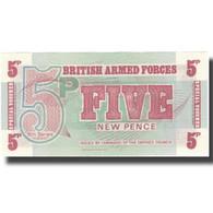 Billet, Grande-Bretagne, 5 New Pence, KM:M44a, NEUF - Emissions Militaires
