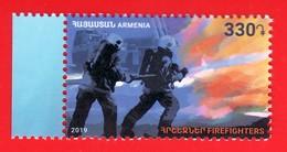 Armenien / Armenie / Armenia 2019, Firefighte, Fire Truck - MNH - Armenien