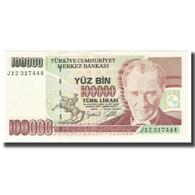 Billet, Turquie, 100,000 Lira, 1970, 1970-10-14, KM:205, NEUF - Turquie