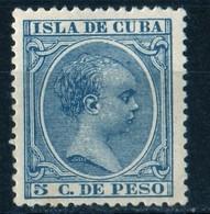 Cuba 1896 Alphonse XIII YT 92 MNH - Cuba