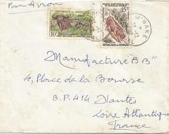 Senegal 1962 M'Bake Buffalo Warthog Niokolo-Koba National Parc Cover - Senegal (1960-...)