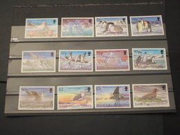 ANTARTICO BRITANNICO - 1998 UCCELLI 12 VALORI - NUOVI(++) - Territorio Antartico Britannico  (BAT)