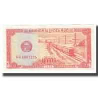 Billet, Cambodge, 0.5 Riel (5 Kak), KM:27A, SPL - Cambodia