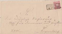 DR Brief EF Minr.33 R2 Schneidemühl 14.2.77 - Deutschland