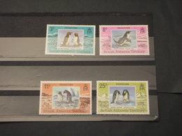 ANTARTICO BRITANNICO - 1979 PINGUINI  4 VALORI - NUOVI(++) - Nuovi